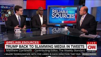 Trump attacks Chuck Todd, promotes Fox News