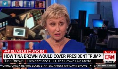 What's Tina Brown's take on Trump?