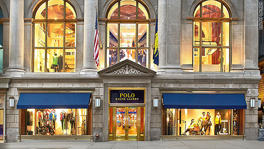Financial news in brief for Ralph lauren 5th ave nyc