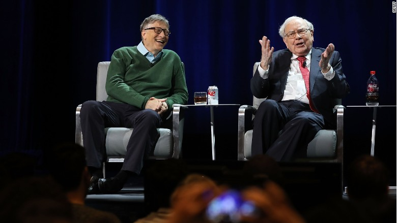 Bill Gates Warren Buffett Columbia Business School