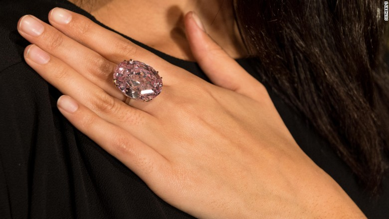 Pink Star Diamond Engagement Ring