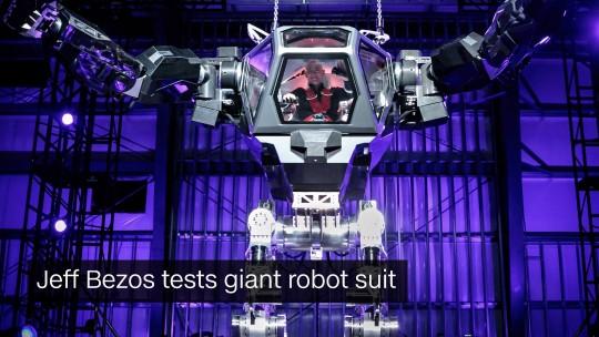 bezos robots