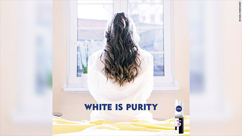 Nivea pulls 'white is purity' ad that was slammed as racist