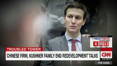 Jared Kushner's crowning real estate deal is in trouble