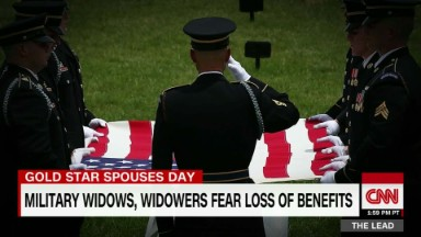 Gold Star widows at risk of losing benefits