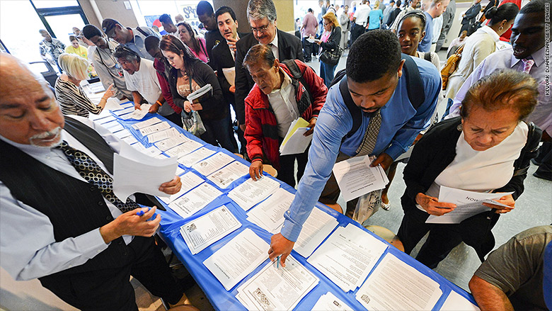 The U.S. has a record high number of jobs available -- 6 million -- according to Labor Department data released Tuesday.