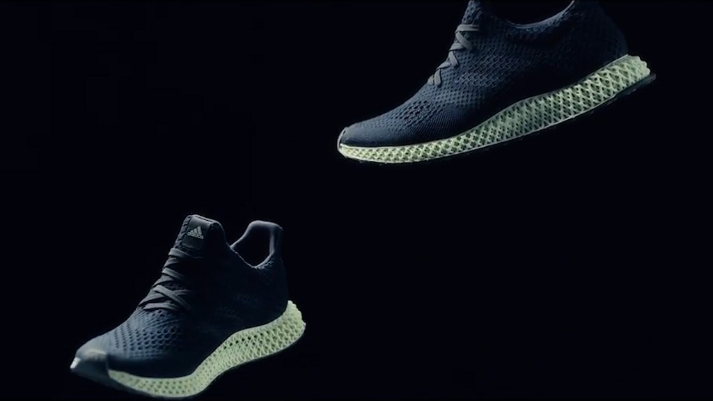 Adidas unveils new 3D printed sneaker