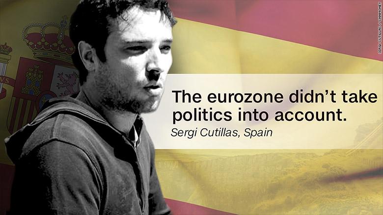 eurozone people spain