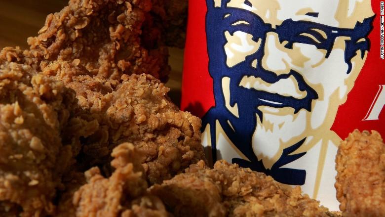 kfc antibiotic free chicken