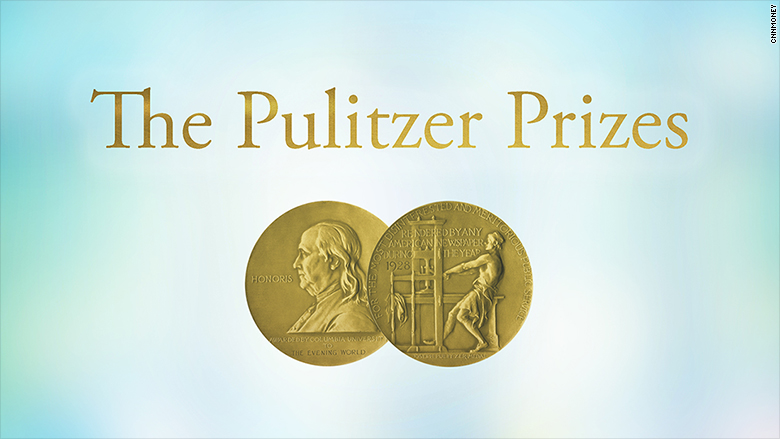 This Year's List of Pulitzer Prize Winners Is Dominated by Trump Stories