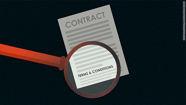 Read the fine print: 4 ways you sign away your rights