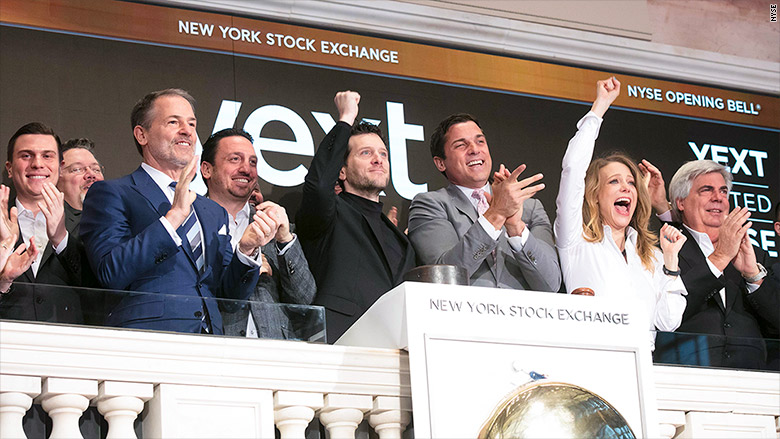 howard lerman yext nyse bell