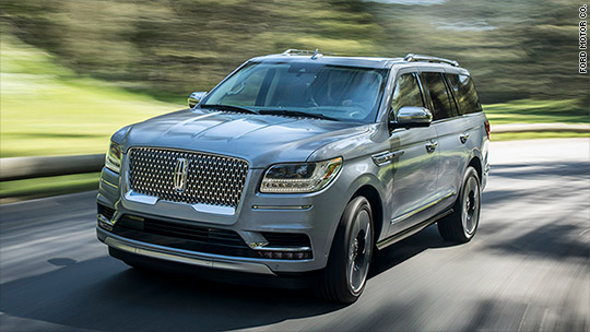 New Lincoln Navigator wants to be your extra large happy place