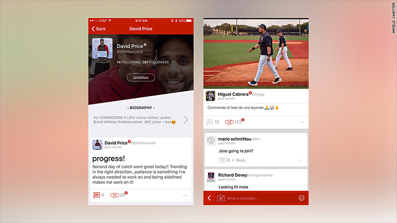 stories players launch social media infield chatter