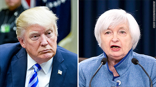 Mnuchin: White House won't rule out a second term for Fed's Janet Yellen