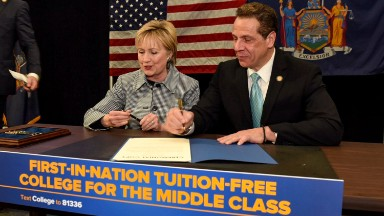 What New Yorkers don't like about the new free tuition scholarship