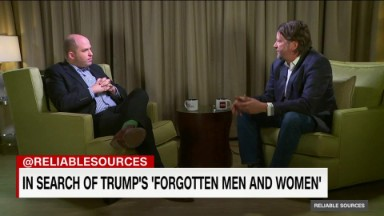 Reporting on Trump's 'forgotten men and women'