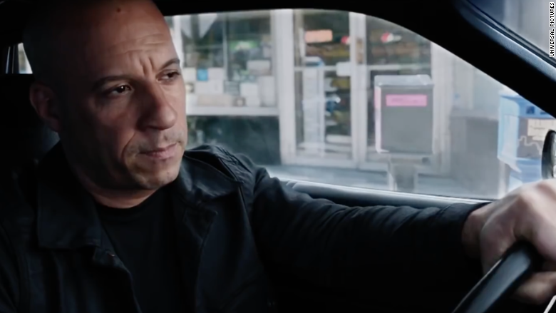 vin diesel fate of the furious