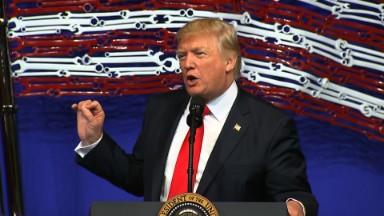 Trump signs 'Buy American, Hire American' order