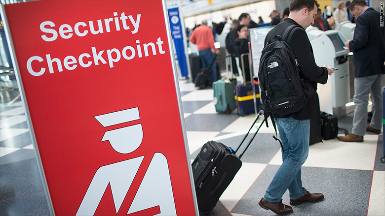 travel us airport tourism security
