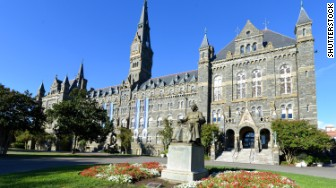 elite colleges georgetown university