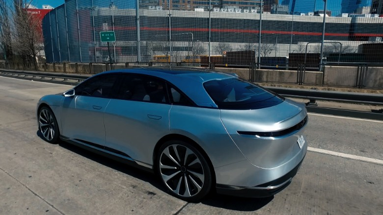 lucid electric car 5