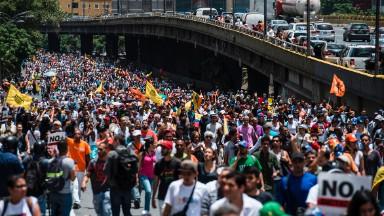 Crisis-ridden Venezuela gave $500K to Trump inauguration