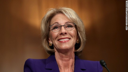 The $1.3 trillion student loan problem facing Betsy DeVos