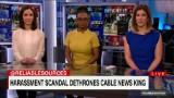 Harassment scandal dethrones cable news king