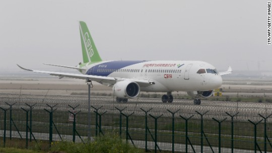 China's first big jetliner clears final hurdle before flying