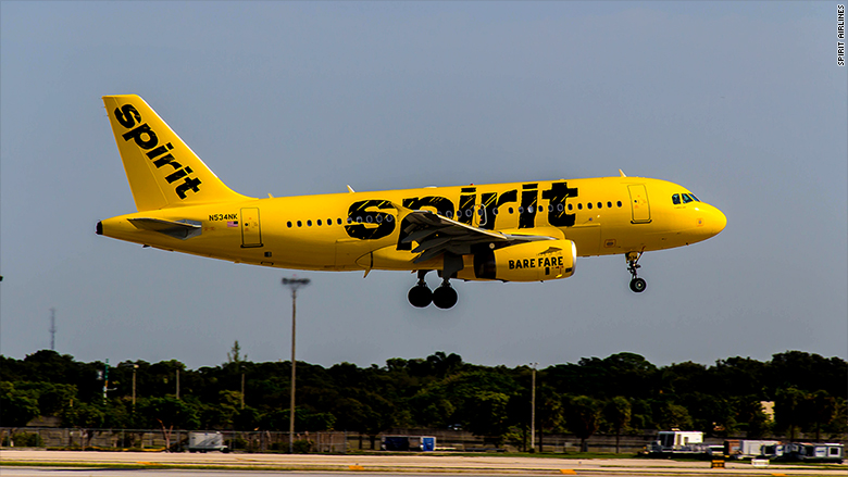 Spirit airlines 39 s showdown with pilots caused 850 flight for Cheap flights with spirit airlines