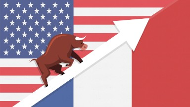 Stocks soar on French election, Trump tax cut hopes