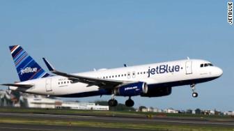 jetblue plane exterior