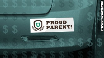 pay for college sticker