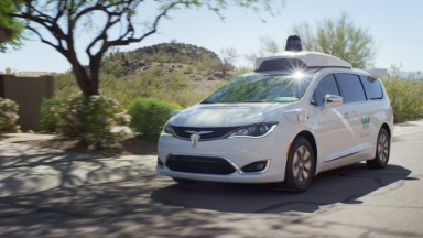Waymo is giving out test rides in self-driving cars