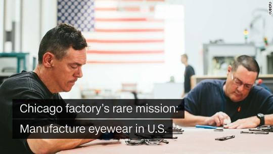 Chicago eyeware factory