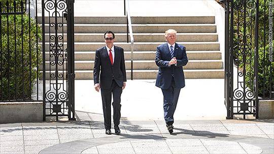 Trump's pick for No. 2 spot at Treasury drops out