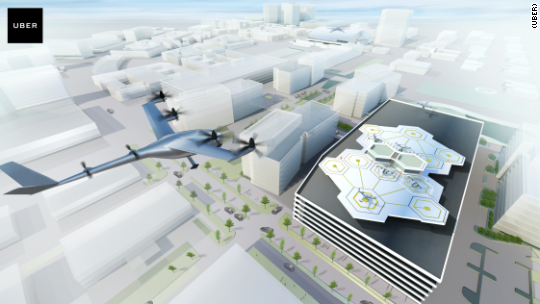 Uber unveils plans to demo flying cars by 2020