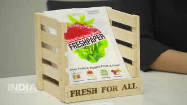 Saving produce from spoiling with a low-tech solution