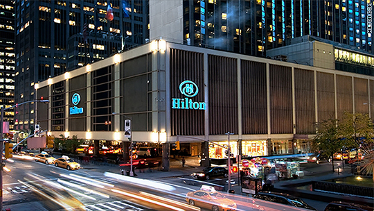 Hilton to hire another 20K veterans and their families