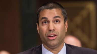 Trump's FCC head gets another term after outcry