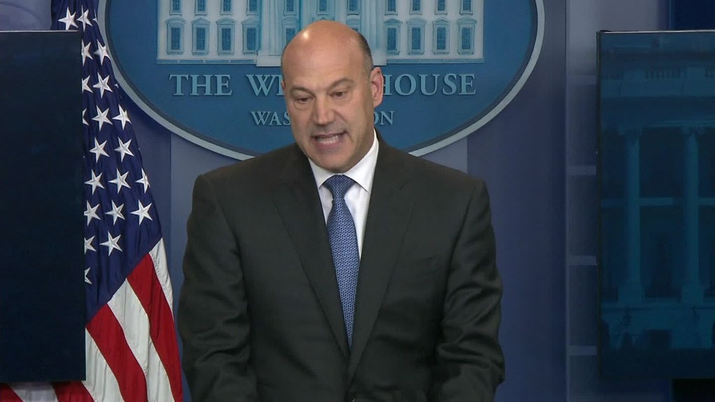 Cohn: Number of tax brackets will be cut from 7 to 3