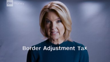 What is a border adjustment tax?