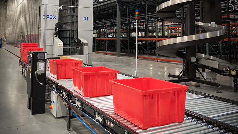 boxed automated warehouse 2