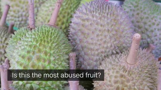 Abused fruit