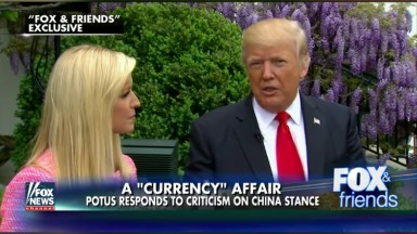 Trump to end interview drought with -- who else? -- 'Fox & Friends'