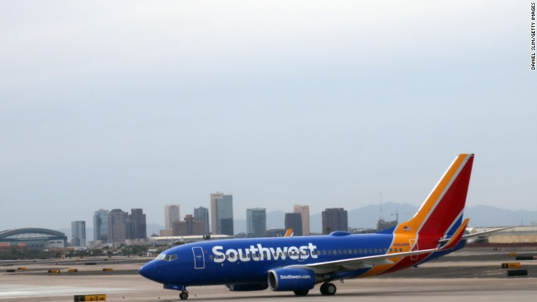 Hurricanes will cost Southwest $100 million in revenue