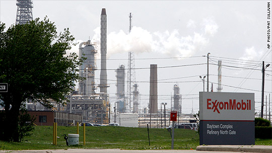 Exxon released 10 million pounds of air pollution in Texas