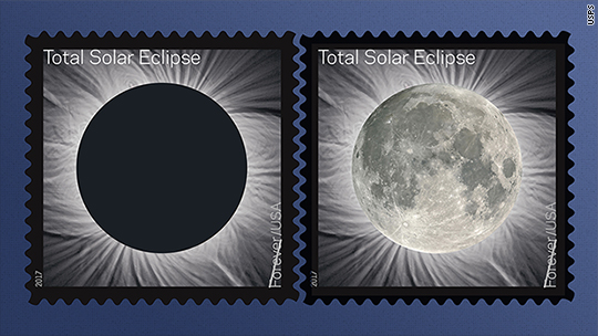 New stamp magically transforms into the moon