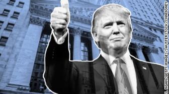 trump rally markets up